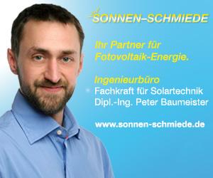 SONNEN-SCHMIEDE - Ihr Partner für saubere Energie.
